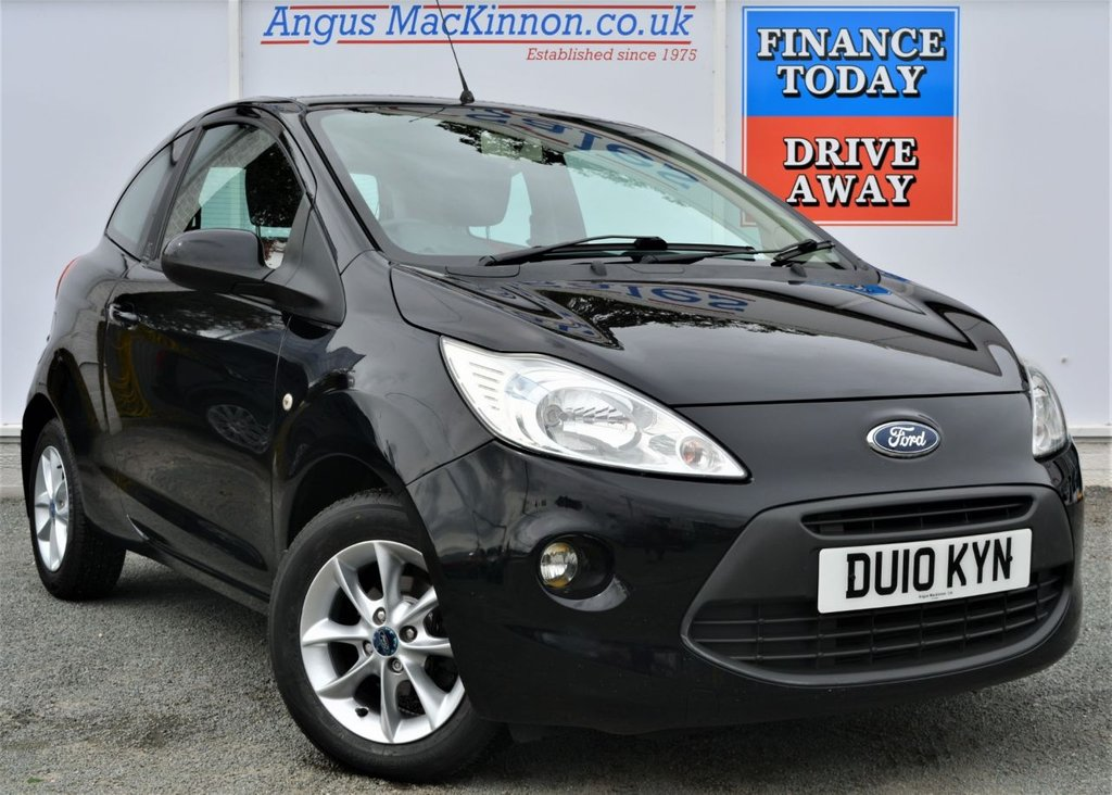 USED 2010 10 FORD KA 1.2 STYLE PLUS 3d Petrol Hatchback with Low Running Costs High 54mpg Low Road Tax **PERFECT FIRST CAR OR RUN AROUND**