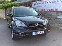 USED 2011 11 HONDA CR-V 2.2 I-DTEC ES 5d 148 BHP FINANCE AVAILABLE+4 WHEEL DRIVE+FULL SERVICE HISTORY