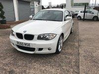 2010 BMW 1 SERIES 2.0 118D M SPORT 3d 141 BHP £5699.00
