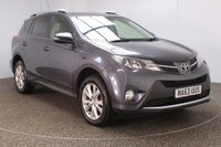 USED 2013 63 TOYOTA RAV4 2.2 D-4D INVINCIBLE 5DR SAT NAV HEATED LEATHER SEATS 150 BHP FULL SERVICE HISTORY + HEATED LEATHER SEATS + SATELLITE NAVIGATION + REVERSE CAMERA + BLUETOOTH + CRUISE CONTROL + CLIMATE CONTROL + MULTI FUNCTION WHEEL + DAB RADIO + PRIVACY GLASS + ELECTRIC SEATS + ELECTRIC WINDOWS + ELECTRIC MIRRORS + 18 INCH ALLOY WHEELS