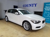 USED 2013 13 BMW 1 SERIES 1.6 114D SE 5d 94 BHP * ONE OWNER * FULL HISTORY *