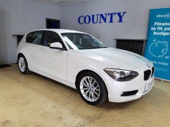 2013 BMW 1 SERIES 1.6 114D SE 5d 94 BHP £6695.00