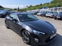 USED 2014 64 TOYOTA GT86 2.0 D-4S 2d 197 BHP Black & Red leather with Suede, heated seats, Sat Nav & more.