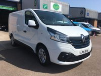 USED 2016 16 RENAULT TRAFIC 1.6 SL27 SPORT DCI L1 H1 115 BHP A/C, SATNAV, BLUETOOTH, E/W, FINANCE ARRANGED & 6 MONTHS WARRANTY. Only 43,000 Miles, SAT NAV, A/C, E/W, Bluetooth, Alloys, media connectivity, cruise control, DAB Radio, rear parking sensors, colour coded, just had a full service, Drivers airbag, factory fitted bulk head, Side loading door, Very Good Condition, 1 Owner, remote Central Locking, Drivers Airbag, Steering Column Radio Control, Side Loading Door, spare key, 6 Months warranty & finance arranged