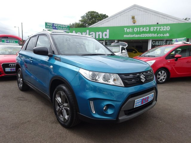 USED 2015 65 SUZUKI VITARA 1.6 SZ-T 5d 118 BHP **JUST ARRIVED ..01543 877320 **SAT NAV **FULL SERVICE HISTORY
