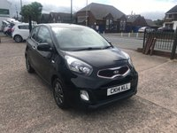 USED 2014 14 KIA PICANTO 1.0 VR7 3d 68 BHP ££ZERO££ TAX-ONLY 24,000 MILES-FULL MAIN DEALER HISTORY-ALLOYS-A/C-BLUETOOTH-REAR PARKING SENSORS