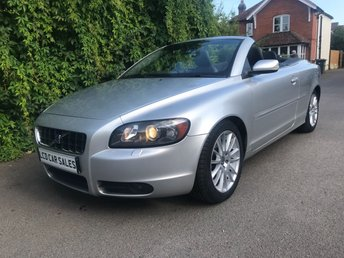 2007 VOLVO C70 2.4 PETROL SE 2d AUTOMATIC - ULEZ COMPLIANT - JUST SERVICED & A NEW CAMBELT @ 65,030 MILES £5490.00