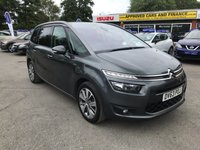 2013 CITROEN C4 GRAND PICASSO 1.6 E-HDI AIRDREAM EXCLUSIVE 5d 113 BHP WITH 73000 MILES, 2 OWNERS AND FULL SERVICE HISTORY £7299.00