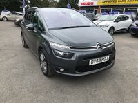 USED 2013 63 CITROEN C4 GRAND PICASSO 1.6 E-HDI AIRDREAM EXCLUSIVE 5d 113 BHP WITH 73000 MILES, 2 OWNERS AND FULL SERVICE HISTORY APPROVED CARS AND FINANCE ARE PLEASED TO OFFER THIS CITROEN C4 PICASSO 1.6 E-HDI AIRDREAM EXCLUSIVE 5 DOOR 113 BHP IN METALLIC GREY WITH 73,000 MILES AND A FULL SERVICE HISTORY. THIS VEHICLE HAS GOT A GREAT SPEC SUCH AS BLUETOOTH, AIR CONDITIONING, ALLOY WHEELS, DAB RADIO , 7 SEATS, CRUISE CONTROL, ELECTRIC FOLDING MIRRORS AND MUCH MORE. THIS IS A PERFECT FAMILY CAR WITH THE 7 SEATS AND EXTREMELY ECONOMICAL DUE TO THE ENGINE SIZE
