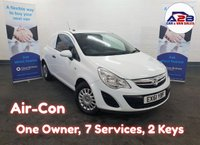 2011 VAUXHALL CORSA 1.3 CDTI ECOFLEX  LOW MILEAGE, 51608 Miles, 7 Service Stamps, AIR CONDITIONING, Electric Pack. £3480.00