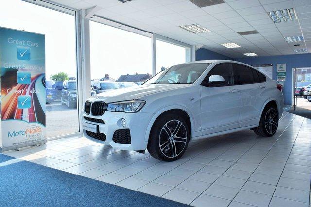 2016 BMW X4 3.0 XDRIVE35D M SPORT 5d AUTO 309 BHP