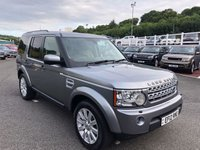 USED 2012 12 LAND ROVER DISCOVERY 3.0 4 SDV6 HSE 5d 255 BHP 7 seats, Cream leather, factory rear entertainment ++