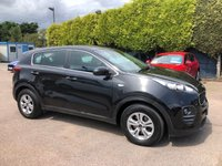 2017 KIA SPORTAGE 1.7 CRDI 1 ISG 5d  ONE PRIVATE OWNER AND VERY LOW MILEAGE £11500.00