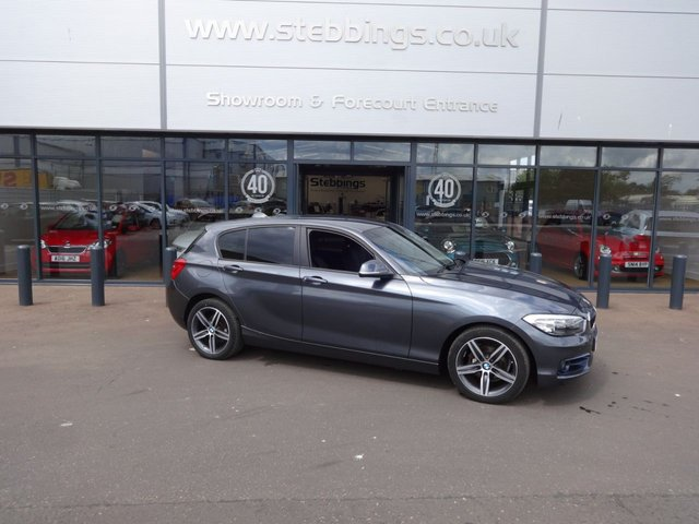 2016 16 BMW 1 SERIES 2.0 118D SPORT 5d 147 BHP