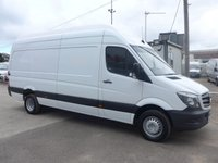USED 2015 15 MERCEDES-BENZ SPRINTER 513 CDI LWB EXTRA HI ROOF, 130 BHP [EURO 5], AUTOMATIC