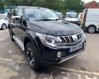 USED 2016 16 MITSUBISHI L200 2.4 DI-D 4X4 BARBARIAN DCB 1d AUTO 178 BHP Low mileage ex lease vehicle