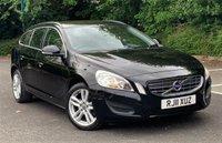 2011 VOLVO V60 1.6 DRIVE SE S/S 5d 113 BHP £5495.00