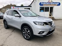 USED 2014 64 NISSAN X-TRAIL 1.6 DCI N-TEC 5d 130 BHP 7 seats, Sat Nav, Pan Roof, Bluetooth, Cruise Control