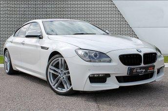 2015 BMW 6 SERIES 3.0 640D M SPORT GRAN COUPE 4d AUTO 309 BHP £21955.00