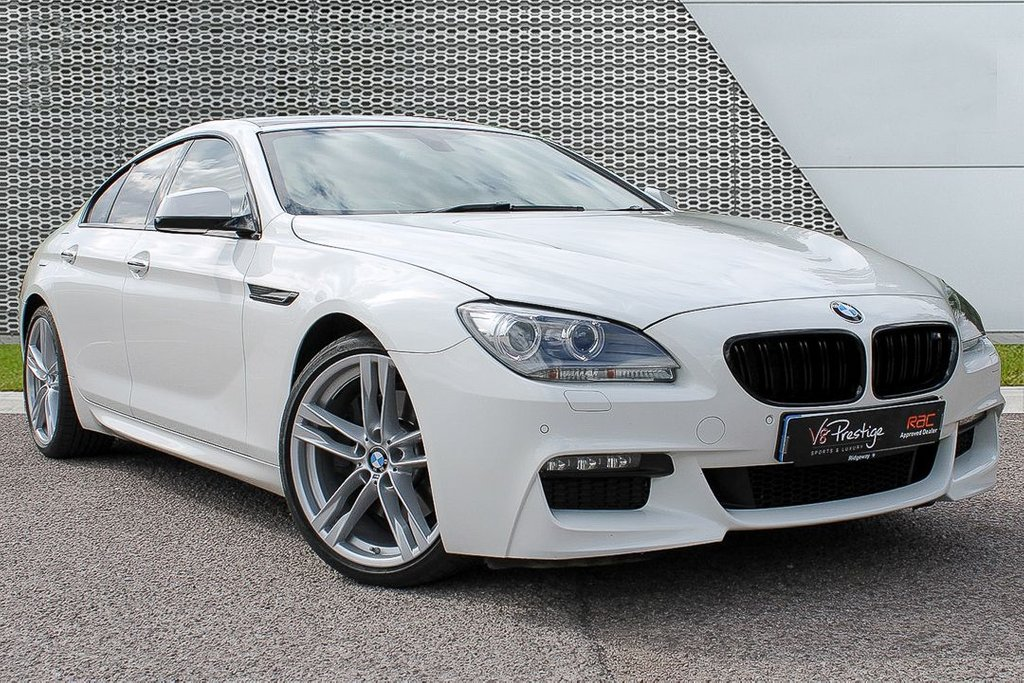 USED 2015 15 BMW 6 SERIES 3.0 640D M SPORT GRAN COUPE 4d AUTO 309 BHP **M PLUS PACK/PAN ROOF/HEADS UP**