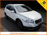 USED 2015 15 SUZUKI SX4 S-CROSS 1.6 SZ-T 5d AUTO 118 BHP, *ULEZ COMPLIANT*SAT-NAV* Fantastic Value One Lady Owned Suzuki S-Cross Automatic with Satellite Navigation, Air Conditioning, Cruise Control, Alloy Wheels and Suzuki Service History. This Vehicle is ULEZ Compliant.