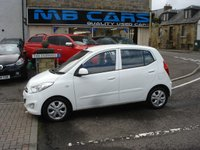 USED 2012 62 HYUNDAI I10 1.2 ACTIVE 5d 85 BHP ONLY £20 A YEAR TAX,FULL SERVICE HISTORY