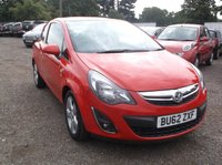 "USED 2012 62 VAUXHALL CORSA 1.2 SXI AC 3d 83 BHP CAT ""N"" Corsa. Fully Repaired To Manufacturers Standard. Long MOT and Drives Nicely!"