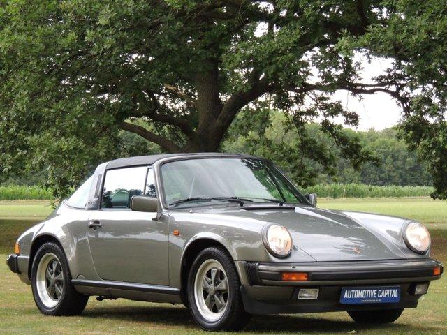 1987 D PORSCHE 911 3.2 CARRERA TARGA SPORT 2d