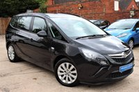 USED 2016 16 VAUXHALL ZAFIRA TOURER 1.4 DESIGN 5d 138 BHP ***** BEAUTIFUL CONDITION *****