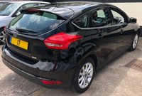USED 2017 17 FORD FOCUS TITANIUM 1.0 ECOBOOST 5DR 100 BHP, SAT NAV, WARRANTY UNTIL AUG 2020. FORD SYNC 3 NAVIGATION, DAB RADIO & REAR SENSORS.