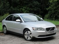 USED 2009 59 VOLVO S40 1.6 D DRIVE S 4d 109 BHP LOW MILEAGE FAMILY SALOON