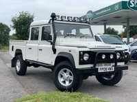 USED 2008 05 LAND ROVER DEFENDER 2.4 130 Double Cab High Capacity X LWB 130 2d 121 BHP RARE 130 LWB Double Cab, Special Specification.