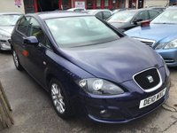 USED 2010 10 SEAT LEON 1.6 CR TDI SE 5d 103 BHP Diesel, 5 door, performance and economy, low road tax, superb