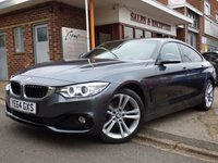 USED 2014 64 BMW 4 SERIES 2.0 418D SPORT GRAN COUPE 4d AUTO 141 BHP FULL BMW SERVICE HISTORY AUTOMATIC GRAN COUPE SUPERB VALUE