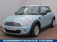 USED 2013 13 MINI HATCH ONE 1.6 ONE 3d 98 BHP SERVICE HISTORY