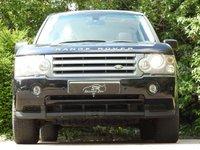 USED 2008 58 LAND ROVER RANGE ROVER 3.6 TDV8 VOGUE 5d AUTO 272 BHP HUGE SPEC FSH LEATHER SAT NAV