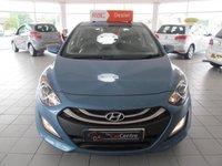 2013 HYUNDAI I30 1.6 ACTIVE 5d AUTO 118 BHP £5500.00