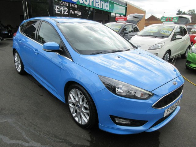 USED 2016 16 FORD FOCUS 1.5 ZETEC S TDCI 5d 118 BHP CALL 01543 379066... 12 MONTHS MOT... 6 MONTHS WARRANTY... FREE ROAD TAX... DIESEL.. JUST ARRIVED