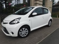 USED 2013 63 TOYOTA AYGO 1.0 VVT-I MOVE MM 5d AUTO 68 BHP ****FINANCE ARRANGED****PART EXCHANGE WELCOME***1 OWNER*£20 TAX*BLUETOOTH*SATNAV*PADDLE SHIFT*REAR PS
