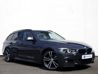 "USED 2016 16 BMW 3 SERIES 2.0 320D M SPORT TOURING 5d 188 BHP PANORAMIC GLASS SUNROOF WITH 19"" BI-COLOUR ALLOY WHEELS & CORAL RED HEATED LEATHER......"