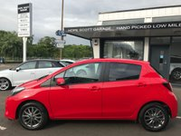 USED 2016 66 TOYOTA YARIS 1.3 VVT-I ICON 3d  ****1Owner,Camera,Bluetooth,Cruise,£30RoadTax***