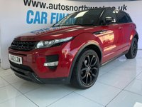 USED 2012 S LAND ROVER RANGE ROVER EVOQUE 2.2 SD4 DYNAMIC LUX 5d AUTO 190 BHP