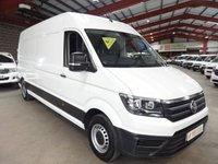 "USED 2018 18 VOLKSWAGEN CRAFTER 2.0 CR35 TDI L H/R P/V STARTLINE  EURO 6 140 BHP LWB  VAN -  ""YOU'RE IN SAFE HANDS"" - AA DEALER PROMISE"