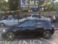 USED 2016 66 VOLKSWAGEN GOLF 2.0 TDI GTI TD 3DOOR STUNNING METALLIC BLACK PAINT WORK, GREY CHECKED CLOTH INTERIOR, HEATED SEAT, CRUISE CONTROL, PARK TRONIC, SAT NAV, 19 INCH POLISHED ALLOY WHEELS, CRUISE CONTROL, 1 OWNER, VW SERVICE HISTORY, LOW MILES