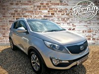 USED 2015 15 KIA SPORTAGE 1.6 2 ISG 5d 133 BHP **GREAT SPEC, FULL HISTORY AND 1 OWNER**