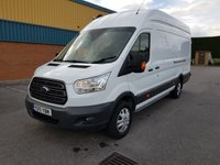 USED 2015 15 FORD TRANSIT 2.2 350 TREND H/R P/V 1d 153 BHP PARK SENSORS, CAMERA, A.C 1 Owner/ Rear Camera/ A.C/ Parking Sensors/ Bluetooth