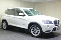 "USED 2011 61 BMW X3 2.0 XDRIVE20D SE 5d 181 BHP 17""ALLOYS+CRUISE CONTROL+LEATHER+CLIMATE CONTROL"