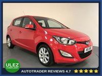 USED 2014 H HYUNDAI I20 1.4 ACTIVE 5d AUTO 99 BHP FULL HISTORY - 2014 - AIR CON - BLUETOOTH - CD PLAYER - AUX / USB - ISOFIX - CD PLAYER