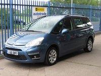 2011 CITROEN C4 GRAND PICASSO 1.6 VTR PLUS HDI EGS 5dr Auto 7 Seats Cruise Alloys  £5000.00