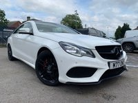USED 2013 MERCEDES-BENZ E CLASS 2.1 E220 CDI AMG SPORT 2d AUTO 170 BHP Great condition